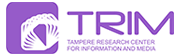 Logo: Tampere Research Center for Information and Media (TRIM)